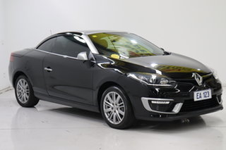 2015 Renault Megane III E95 Phase 2 GT-Line Cpe Cabrio Black 6 Speed Constant Variable Convertible
