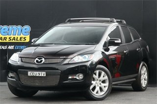 2008 Mazda CX-7 ER1031 MY07 Luxury Black 6 Speed Sports Automatic Wagon