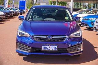 2021 Subaru Impreza G5 2.0I-S Blue Constant Variable Hatchback.