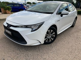 2020 Toyota Corolla ZWE211R Ascent Sport E-CVT Hybrid Glacier White 10 Speed Constant Variable.