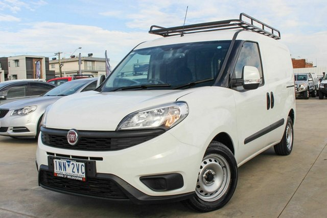 Used Fiat Doblo 263 Series 1 Low Roof SWB Comfort-matic Coburg North, 2018 Fiat Doblo 263 Series 1 Low Roof SWB Comfort-matic White 5 Speed Sports Automatic Single Clutch