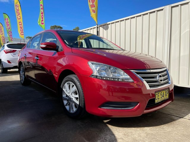 Used Nissan Pulsar B17 Series 2 ST Glendale, 2015 Nissan Pulsar B17 Series 2 ST Red 1 Speed Constant Variable Sedan