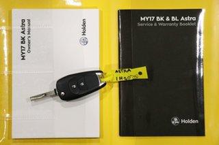 2017 Holden Astra BK MY17 R Black 6 Speed Automatic Hatchback