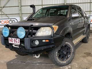 2007 Toyota Hilux KUN26R MY07 SR5 Grey 5 Speed Manual Utility.
