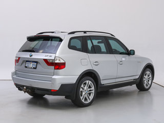 2008 BMW X3 E83 MY07 2.5SI Silver, Chrome 6 Speed Auto Steptronic Wagon