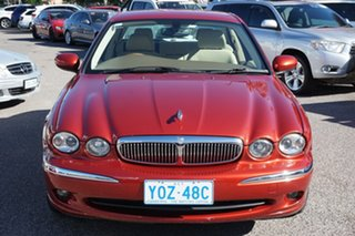 2006 Jaguar X-Type X400 MY06 LE Red 5 Speed Automatic Sedan.