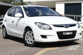 2009 Hyundai i30 FD MY09 SX White 5 Speed Manual Hatchback