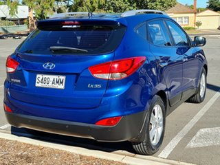 2010 Hyundai ix35 LM Elite AWD Blue 6 Speed Sports Automatic Wagon