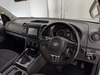 2013 Volkswagen Amarok 2H MY13 TDI420 4Motion Perm Silver 8 Speed Automatic Cab Chassis