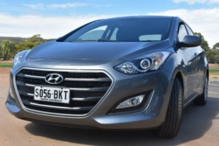 2015 Hyundai i30 GD3 Series II MY16 Active Grey & Silver 6 Speed Sports Automatic Hatchback.