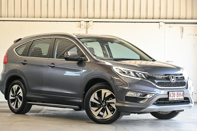 Used Honda CR-V RM Series II MY17 Limited Edition Laverton North, 2016 Honda CR-V RM Series II MY17 Limited Edition Grey 5 Speed Automatic Wagon