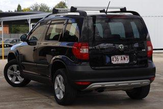 2012 Skoda Yeti 5L 77TSI DSG Black 7 Speed Sports Automatic Dual Clutch Wagon.