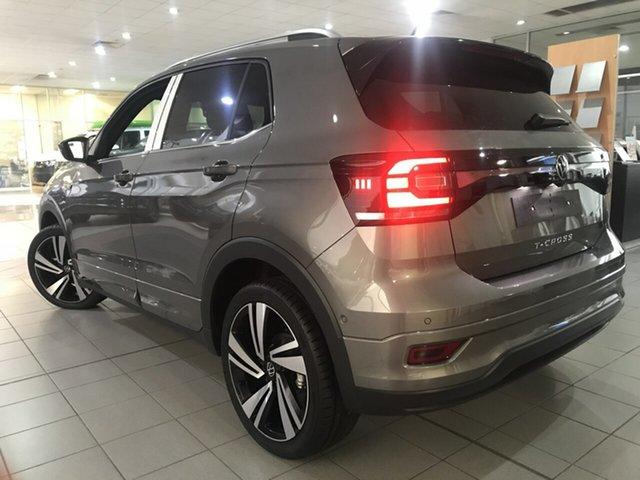 New Volkswagen T-Cross C1 85TSI Style Hamilton, 2020 Volkswagen T-Cross C1 85TSI Style Limestone Grey 7 Speed Semi Auto SUV