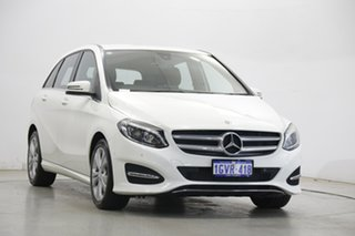 2017 Mercedes-Benz B-Class W246 808MY B200 DCT White 7 Speed Sports Automatic Dual Clutch Hatchback