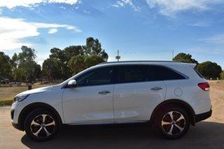 2016 Kia Sorento UM MY17 SLi White 6 Speed Sports Automatic Wagon