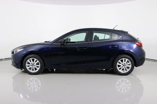 2014 Mazda 3 BM Maxx Blue 6 Speed Automatic Hatchback