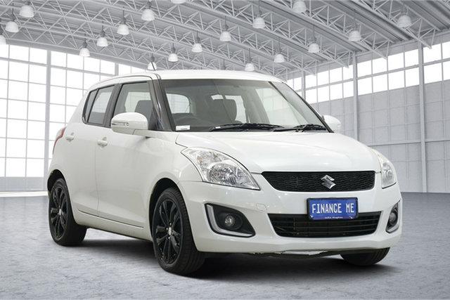 Used Suzuki Swift FZ MY15 GL Navigator Victoria Park, 2015 Suzuki Swift FZ MY15 GL Navigator White 4 Speed Automatic Hatchback