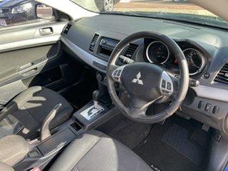 2011 Mitsubishi Lancer CJ MY11 SX Blue 6 Speed CVT Auto Sequential Sedan