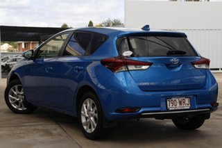 2016 Toyota Corolla ZRE182R Ascent Sport Blue 6 Speed Manual Hatchback.