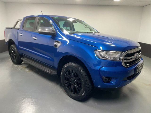 Used Ford Ranger PX MkIII 2019.75MY XLT Newcastle West, 2019 Ford Ranger PX MkIII 2019.75MY XLT Blue 6 Speed Sports Automatic Double Cab Pick Up