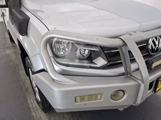 2013 Volkswagen Amarok 2H MY13 TDI420 4Motion Perm Silver 8 Speed Automatic Cab Chassis.