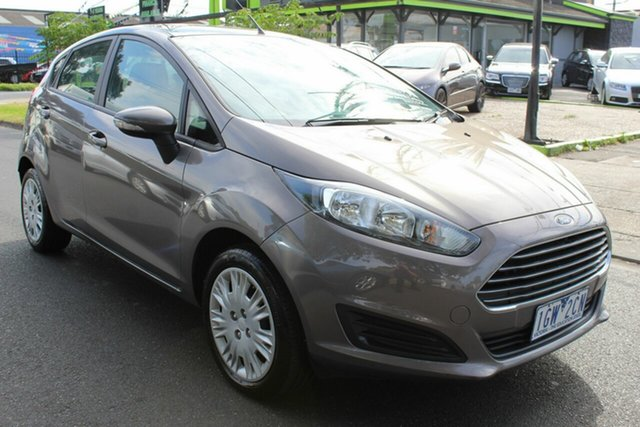 Used Ford Fiesta WZ Trend PwrShift West Footscray, 2016 Ford Fiesta WZ Trend PwrShift Brown 6 Speed Sports Automatic Dual Clutch Hatchback