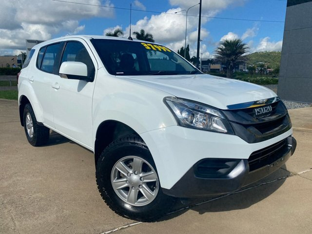 Used Isuzu MU-X MY15.5 LS-U Rev-Tronic 4x2 Townsville, 2016 Isuzu MU-X MY15.5 LS-U Rev-Tronic 4x2 White/151116 5 Speed Sports Automatic Wagon