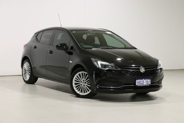 Used Holden Astra BK MY17 R Bentley, 2017 Holden Astra BK MY17 R Black 6 Speed Automatic Hatchback