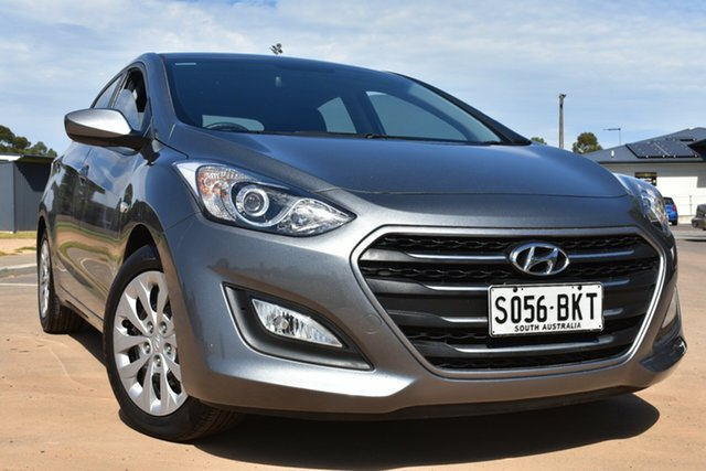 Used Hyundai i30 GD3 Series II MY16 Active St Marys, 2015 Hyundai i30 GD3 Series II MY16 Active Grey & Silver 6 Speed Sports Automatic Hatchback