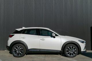 2021 Mazda CX-3 CX-3 F 6AUTO AKARI LE PETROL FWD Snowflake White Pearl Wagon.
