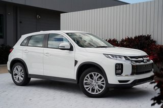 2021 Mitsubishi ASX XD MY21 ES 2WD ADAS White 1 Speed Constant Variable Wagon.
