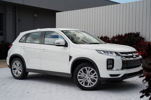 New Mitsubishi ASX XD MY21 ES 2WD ADAS Cairns, 2021 Mitsubishi ASX XD MY21 ES 2WD ADAS White 1 Speed Constant Variable Wagon