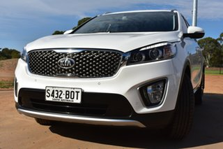 2016 Kia Sorento UM MY17 SLi White 6 Speed Sports Automatic Wagon.
