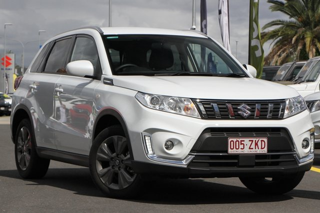 Used Suzuki Vitara LY Series II 2WD Aspley, 2019 Suzuki Vitara LY Series II 2WD Pearl White 6 Speed Sports Automatic Wagon