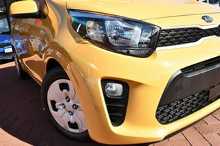 2020 Kia Picanto JA MY21 GT-Line Honey Bee Yellow 4 Speed Automatic Hatchback.