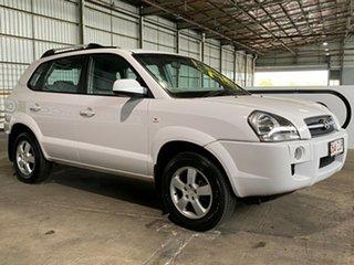 2006 Hyundai Tucson JM City White 4 Speed Sports Automatic Wagon.