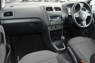2011 Volkswagen Polo 6R MY12 77TSI Comfortline 6 Speed Manual Hatchback