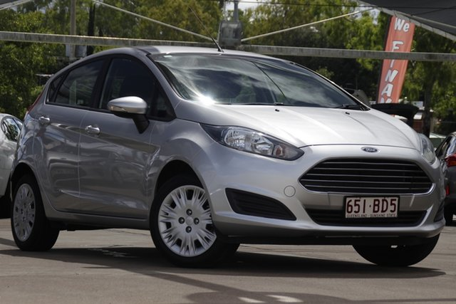 Used Ford Fiesta WZ Ambiente Bundamba, 2017 Ford Fiesta WZ Ambiente Silver 5 Speed Manual Hatchback