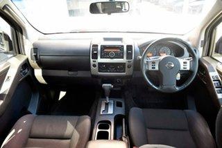 2010 Nissan Navara D40 ST Black 5 Speed Automatic Utility.