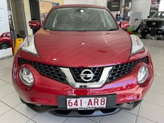 2015 Nissan Juke F15 Series 2 Ti-S X-tronic AWD Red 1 Speed Constant Variable Hatchback.