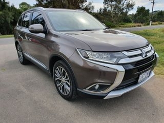 2016 Mitsubishi Outlander ZK LS Bronze Constant Variable Wagon.