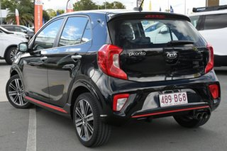 2019 Kia Picanto JA MY19 GT Black 5 Speed Manual Hatchback.