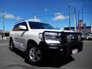 2015 Toyota Landcruiser VDJ200R MY16 GXL (4x4) Glacier White 6 Speed Automatic Wagon.