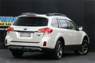 2014 Subaru Outback B5A MY14 2.0D Lineartronic AWD Premium White 7 Speed Constant Variable Wagon