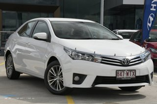 2016 Toyota Corolla ZRE172R SX S-CVT White 7 Speed Constant Variable Sedan.