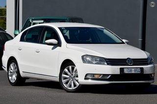 2015 Volkswagen Passat Type 3C MY15 118TSI DSG White 7 Speed Sports Automatic Dual Clutch Sedan.