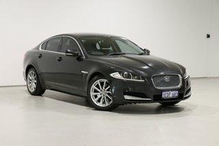 2012 Jaguar XF MY12 3.0D Luxury Grey 8 Speed Automatic Sedan.