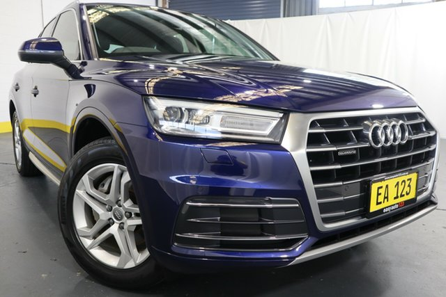 Used Audi Q5 FY MY17 TDI S Tronic Quattro Ultra design Castle Hill, 2017 Audi Q5 FY MY17 TDI S Tronic Quattro Ultra design Blue 7 Speed Sports Automatic Dual Clutch