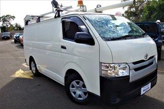 2014 Toyota HiAce KDH201R MY14 LWB White 4 Speed Automatic Van.