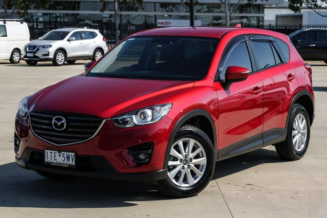 Used Mazda CX-5 KE1032 Maxx SKYACTIV-Drive AWD Sport Narre Warren, 2016 Mazda CX-5 KE1032 Maxx SKYACTIV-Drive AWD Sport Red 6 Speed Sports Automatic Wagon